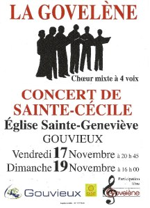 La Govelène17et19novembre