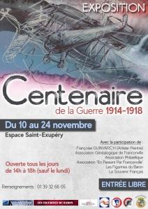 Expo centenaire Franconville 2018
