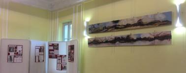 expo et tableaux de Véronique