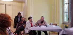 des participants : l'ANACR et, pas encore là, le GHAP de Plailly